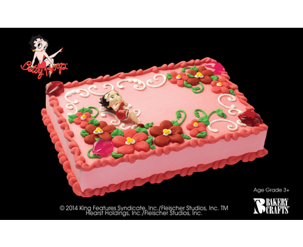 Cakes order cakes and cupcakes online disney spongebob betty boop kit sciox Gallery